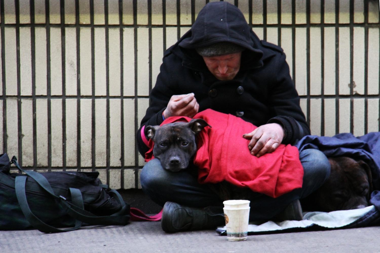 Should be ban begging. A debate
